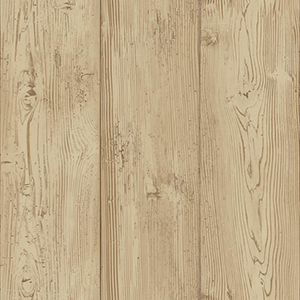 Welcome Home Beige, Russet and Brown Cabin Boards Wallpaper