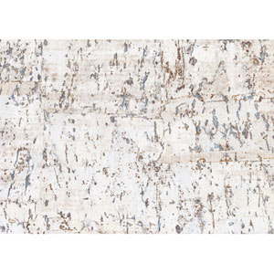 Candice Olson Dimensional Surfaces Cork on Metallic Wallpaper