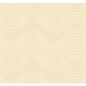 Candice Olson Modern Nature Gold Meander Wallpaper
