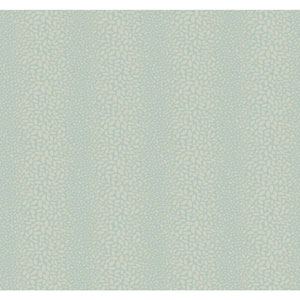 Candice Olson Modern Nature Aquamarine and Taupe Canopy Wallpaper