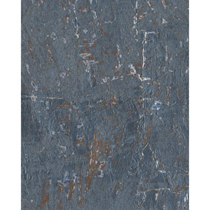 Candice Olson Modern Nature Blue and Brown Cork Wallpaper