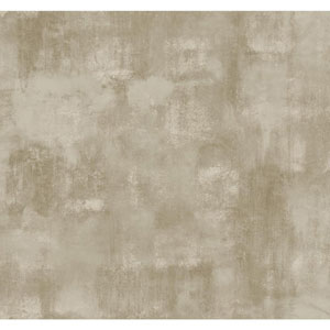 Ronald Redding Designer Damask Cream and Taupe Whitaker Wallpaper