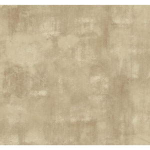 Ronald Redding Designer Damask Soft Gold and Taupe Whitaker Wallpaper