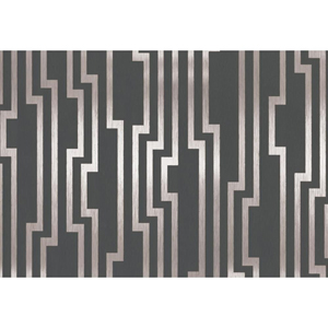 Candice Olson Shimmering Details Black and Silver Velocity Wallpaper