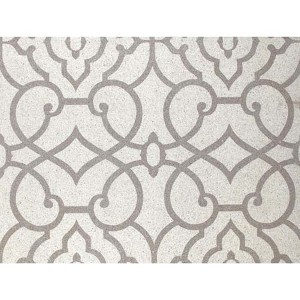 Candice Olson Shimmering Details Metallic Grillwork Mica Wallpaper