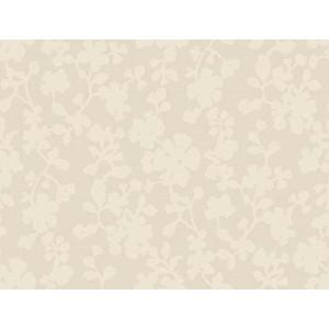 Candice Olson Shimmering Details Metallic Shadow Flowers Wallpaper