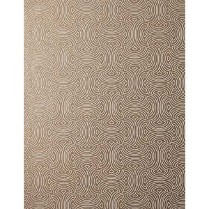 Candice Olson Shimmering Details Brown Metallic Hourglass Wallpaper
