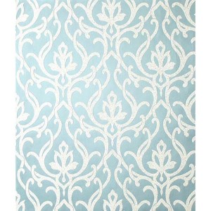 Candice Olson Shimmering Details Blue Dazzled Wallpaper