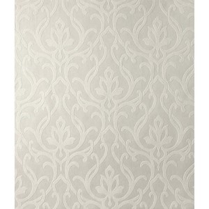 Candice Olson Shimmering Details White and Off White Dazzled Wallpaper