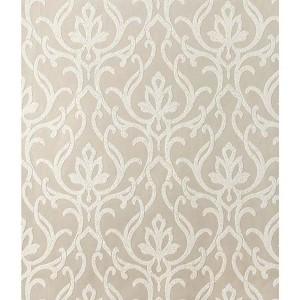 Candice Olson Shimmering Details Beige Dazzled Wallpaper
