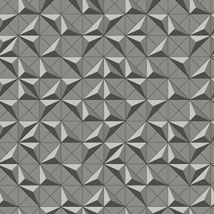 Dimensional Artistry Grey Puzzle Box Wallpaper