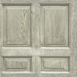 Dimensional Artistry Beige Front Door Wallpaper