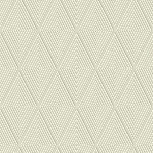 Dimensional Artistry Tan Conduit Diamond Wallpaper