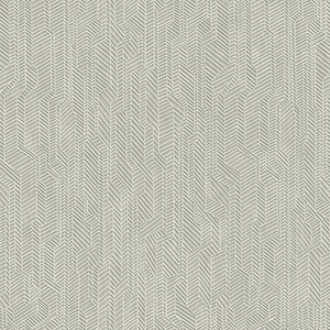 Dimensional Artistry Grey Metropolis Geometric Wallpaper