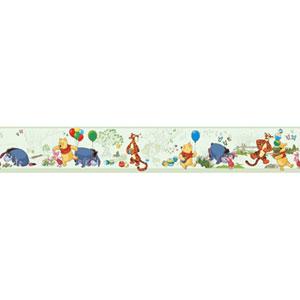 Walt Disney Kids Pooh and Friends toile Border