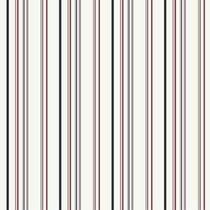 Walt Disney Kids Wild Multi-Colored Stripe Wallpaper