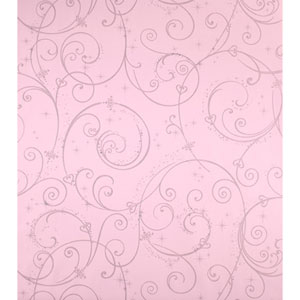 Walt Disney Kids Perfect Princess Scroll Wallpaper