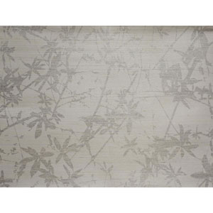 Candice Olson Natural Splendor Sylvan Silver and White Wallpaper
