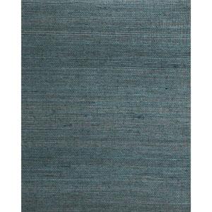 Candice Olson Natural Splendor Plain Sisals Teal Wallpaper