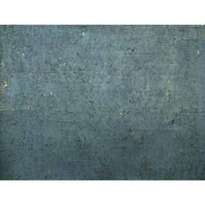 Candice Olson Natural Splendor Cork Teal Wallpaper