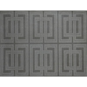 Candice Olson Natural Splendor Quad Gray and Charcoal Wallpaper
