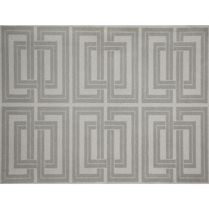 Candice Olson Natural Splendor Quad Silver and White Wallpaper
