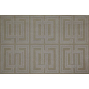 Candice Olson Natural Splendor Quad Gray and Beige Wallpaper
