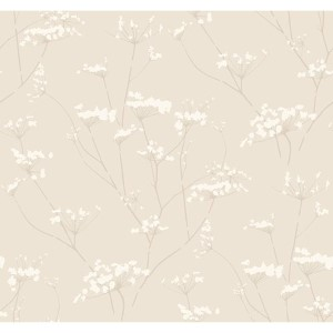 Modern Luxe Cork Tan Enchanted Wallpaper