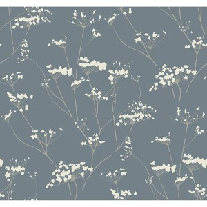 Modern Luxe Silver and Grey Enchanted Wallpaper