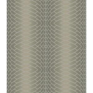 Modern Luxe Frosted Sherry Brown Impulse Wallpaper
