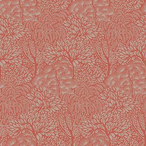Dwell Studio Miyuki Oranges Wallpaper