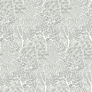 Dwell Studio Miyuki Black Wallpaper