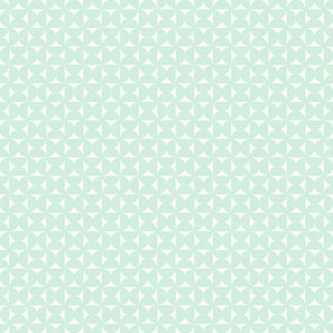 Dwell Studio Baby and Kids Milo Blue and White Wallpaper