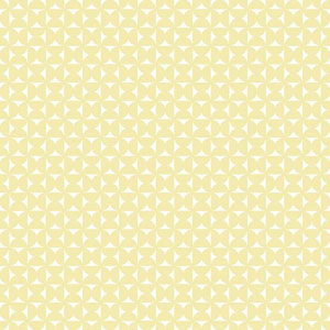 Dwell Studio Baby and Kids Milo White and Yellow Wallpaper