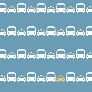 Dwell Studio Baby and Kids Transportation Wallpaper
