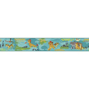 Disney Kids III Disney The Lion Guard Scenic Border