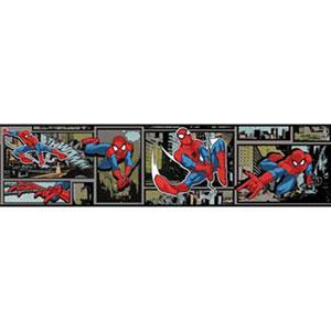 Disney Kids III Marvel Ultimate Spiderman Comic Border