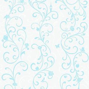 Disney Kids III Disney Princess Scroll Stripe Wallpaper