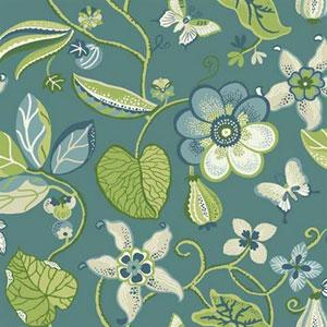 Carey Lind Vibe Sea Floral Multicolor Wallpaper