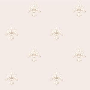 Arlington Cream and Tan Ornamental Harlequin Wallpaper