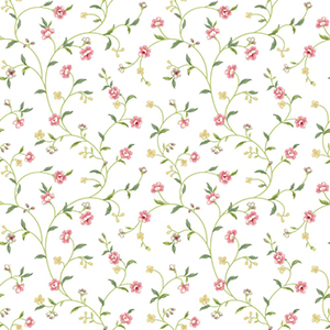 Waverly Cottage Multi-Colored Bellisima Vine Wallpaper