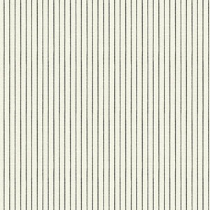 Waverly Cottage Warm White, Black and Grey Highwire Stripe Wallpaper