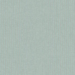 Waverly Cottage Pale Aqua and Grey Highwire Stripe Wallpaper