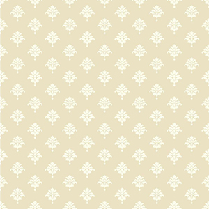 Waverly Cottage Ecru and White Bling It on Wallpaper