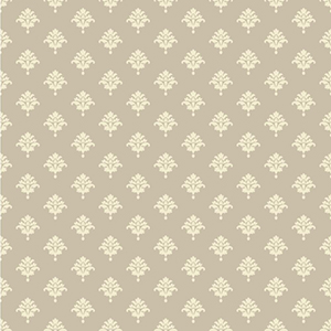 Waverly Cottage Light Grey and Cream Bling It on Wallpaper
