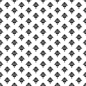Waverly Cottage White and Black Bling It on Wallpaper