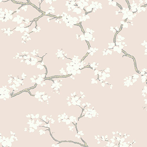 Florence Broadhurst Blush Branches Wallpaper