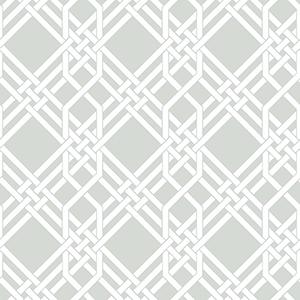 Florence Broadhurst Grey Pagoda Wallpaper