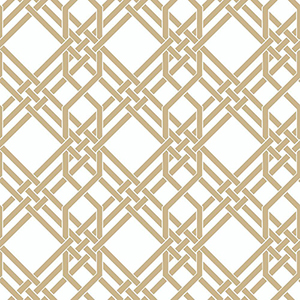 Florence Broadhurst Gold Pagoda Wallpaper