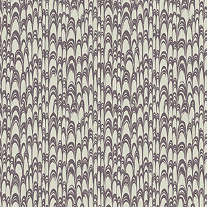 Florence Broadhurst Purple Waterjet Wallpaper